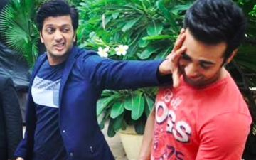 Riteish Deshmukh Is Ready For That Kiss Now With Pulkit Samrat; Know The Mystery Behind The Kiss