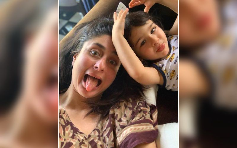 Kareena Kapoor Khan's Son Taimur Ali Khan Gets Snapped In A Jovial Mood As He Has A Gala Time With His Friends
