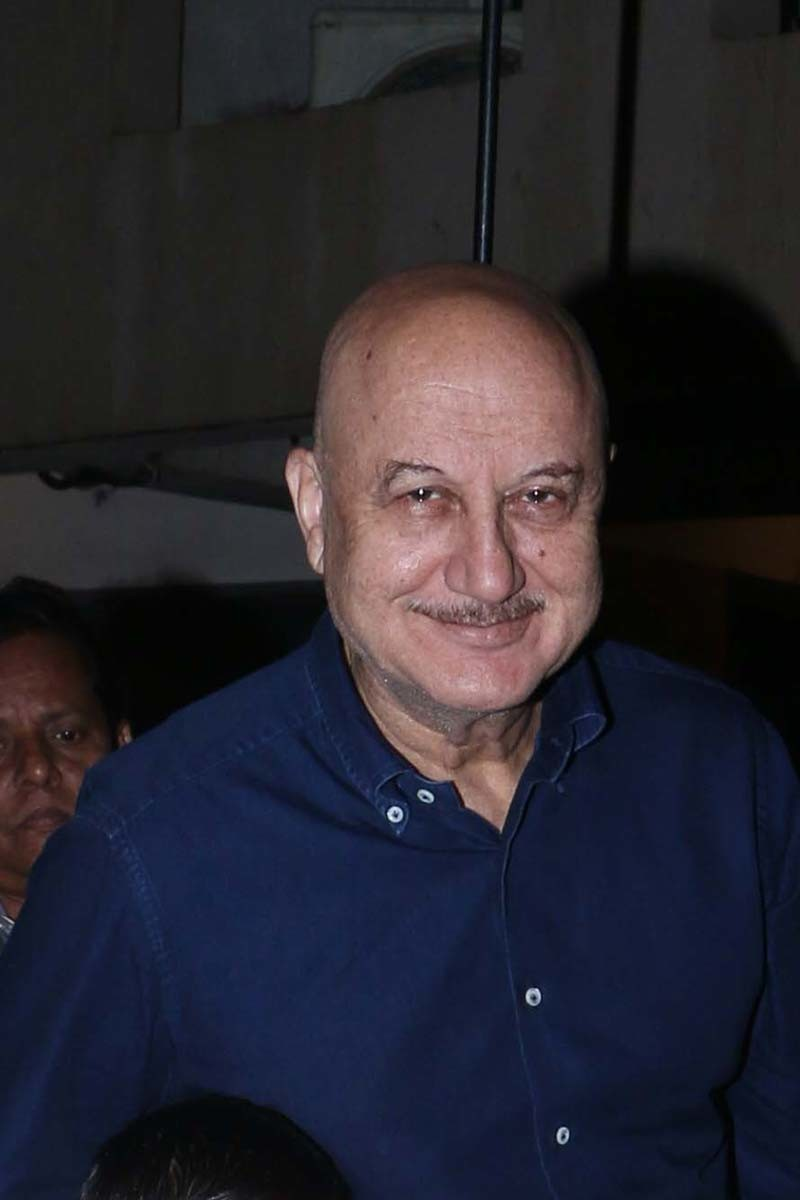 A Smiling Picture Of Anupam Kher