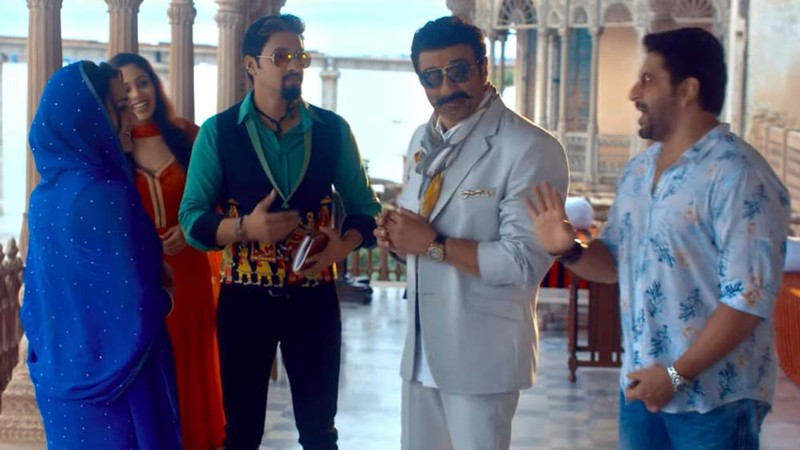 A Still From The Movie Bhaiaji Superhit