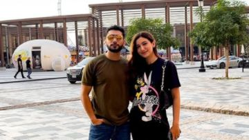 Lovebirds Gauahar Khan And Her 'Humsafar' Zaid Darbar Dash Off To Dubai For A Mini Holiday - PICS
