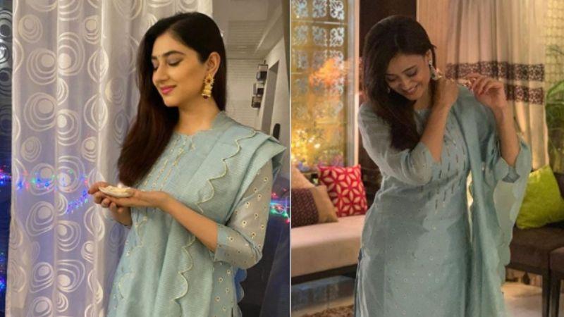 Bigg Boss 14's Rahul Vaidya's Ladylove Disha Parmar And Shweta Tiwari Wear DITTO Outfits On Diwali: Who Wore It Better?