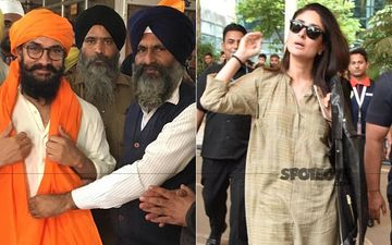 Laal Singh Chaddha: Aamir Khan Visits A Gurudwara In Chandigarh To Seek Blessings; Kareena Kapoor Khan Returns To Mumbai