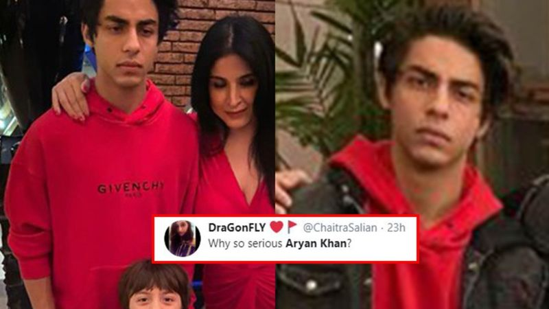 Shah Rukh Khan's Son Aryan Khan Gets Trolled For His Grumpy Expressions; Netizens Ask, 'Why So Serious Bro?'