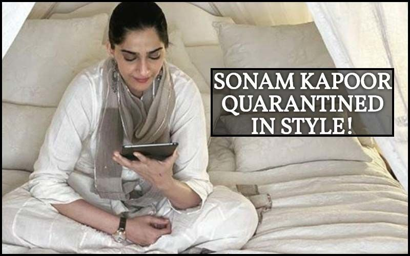Sonam Kapoor's Quarantine Looks: How Does The Fashionista Keep It Stylish Even At Home?- Click To Know