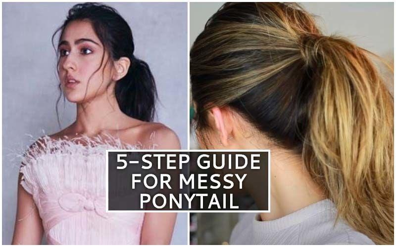 Sara Ali Khan's Messy Ponytail On Your Wishlist? Utilize Quarantine Period To Master It Using These 5 Simple Steps!