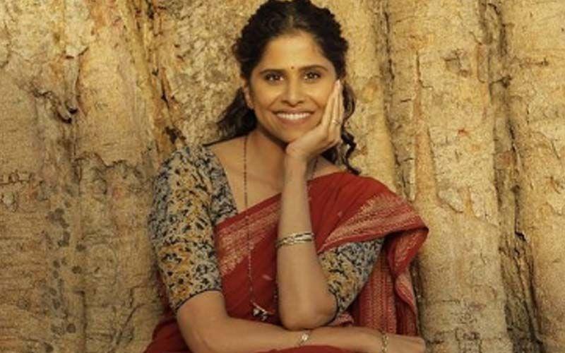Sai Tamhankar's Oozing Sensuality In A Low Waist Saree Is Making Heads Turn