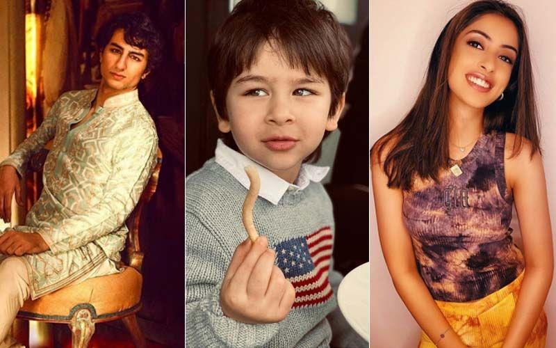 From Suhana Khan, Navya Naveli Nanda To Taimur Ali Khan - These B-town Star Kids Already Have A Huge Fanbase