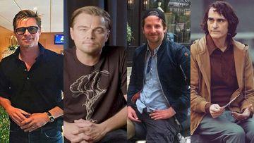 Brad Pitt-Leonardo Di Caprio And Bradley Cooper-Joaquin Phoenix; Boys Just Wanna Have Some Fun - PICS From AFI Awards
