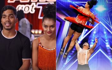Indian Dancing Duo 'Bad Salsa' Steals The Show On America's Got Talent With Their Electrifying Performance-VIDEO