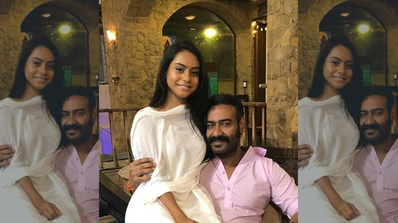 Ajay Devgn's Daughter Nysa Accidentally Hits Her Friend While Making TikTok Post-See Hilarious Viral Video