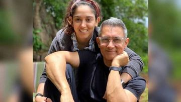 Aamir Khan's Super-Hot Salt N Peppa Hair In Daughter Ira Khan's Father's Day Post Is Breaking The Internet; Fans Go, 'Nice Grey'
