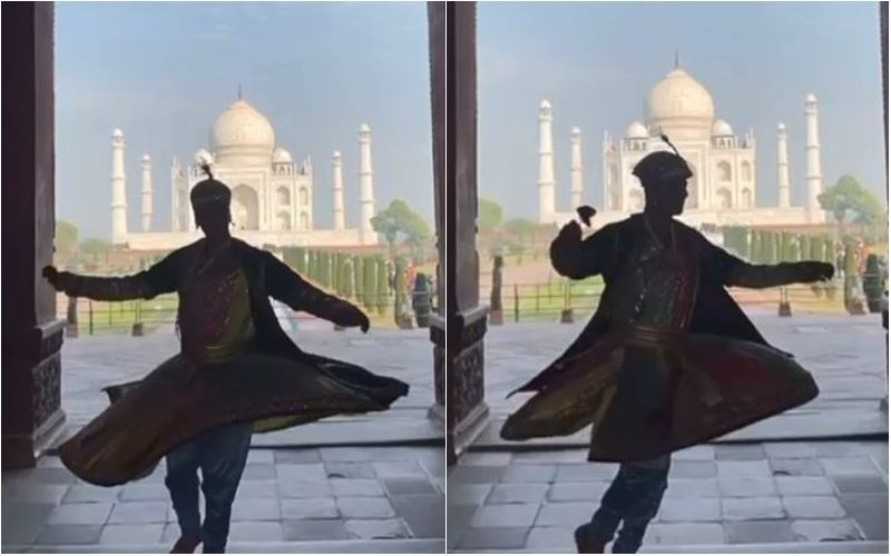 Atrangi Re: Akshay Kumar Channels His Inner Salim As He Shoots At Taj Mahal, With A Rose In His Hand - Watch BTS Video