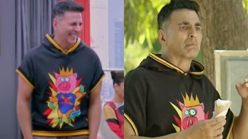 Akshay Kumar Sports The SAME Tee For Housefull 4 And Good Newwz; Cost-Cutting Or An Unintentional Blunder?