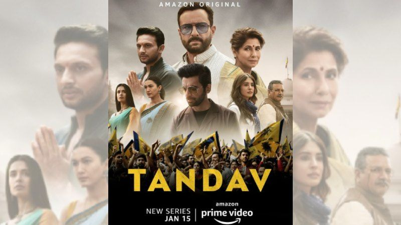 Tandav: FIR Filed Against The Makers Of Saif Ali Khan, Dimple Kapadia Starrer Web Series For Allegedly 'Hurting Religious Sentiments'
