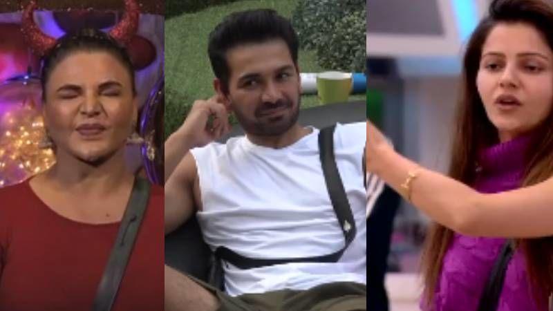 Bigg Boss 14 PROMO: Rakhi Sawant Wants To Steal Rubina Dilaik's Husband; Asks 'I Love You Boldun Abhinav Shukla Ko?'