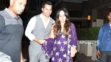 Varun Dhawan-Natasha Dalal Mehendi And Sangeet: Celebrity Guests Rehearse For A Bollywood Theme Inspired Party?