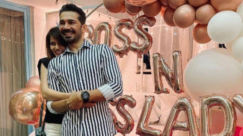 Bigg Boss 14 Winner Rubina Dilaik And Husband Abhinav Shukla Celebrate The Big Win With Friends Sharad Kelkar, Surveen Chawla, Srishty Rode And More - PICS