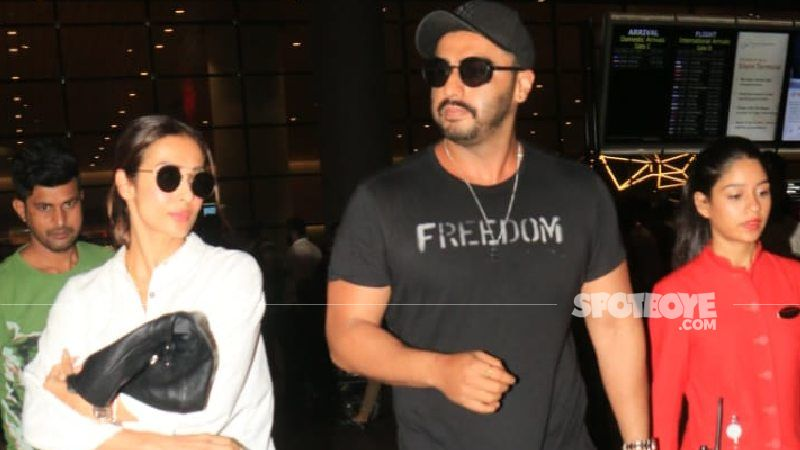 Malaika Arora Drops By The Sets Of BF Arjun Kapoor's Next For A Quick Catch-Up  - PIC INSIDE