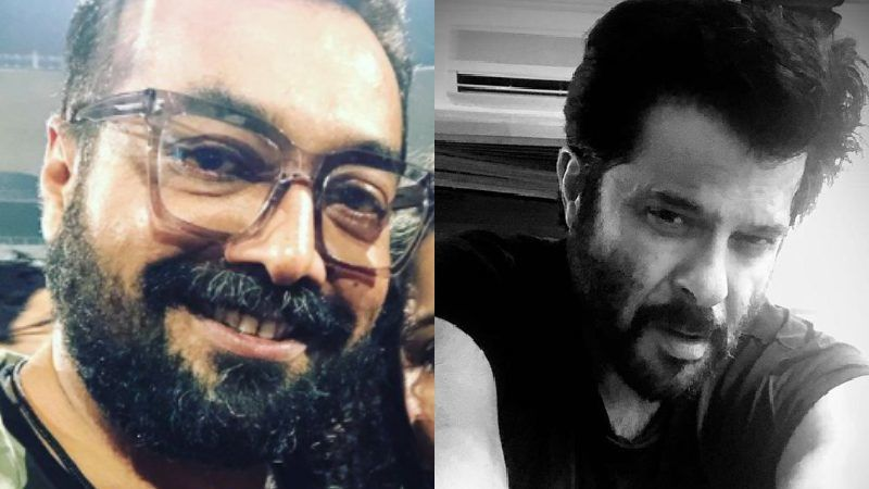 AK VS AK: Anurag Kashyap Points At A Hoarding To Get Back At Anil Kapoor; Calls His Acting 'LOL'