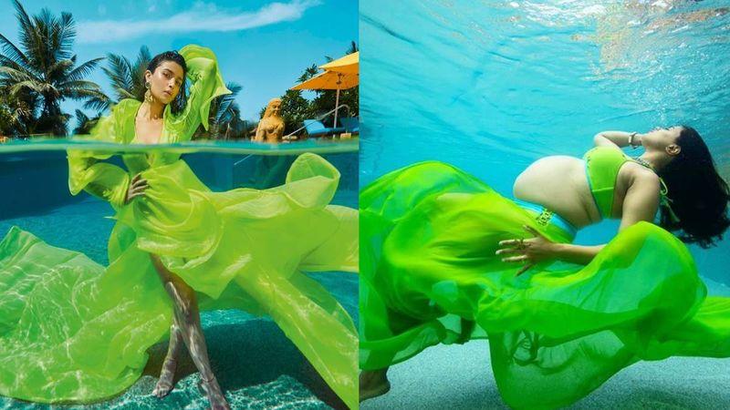 Alia Bhatt's Latest Underwater Photo Shoot Reminds Us Of Sameera Reddy's Maternity Shoot; Pics Bear Uncanny Similarity