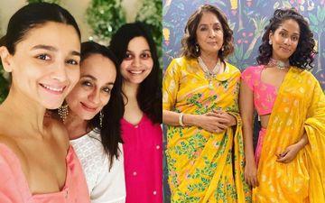 Alia Bhatt, Shaheen Bhatt And Masaba Gupta Twinning In White With Moms Soni Razdan And Neena Gupta Make For A Beautiful Gang - PIC