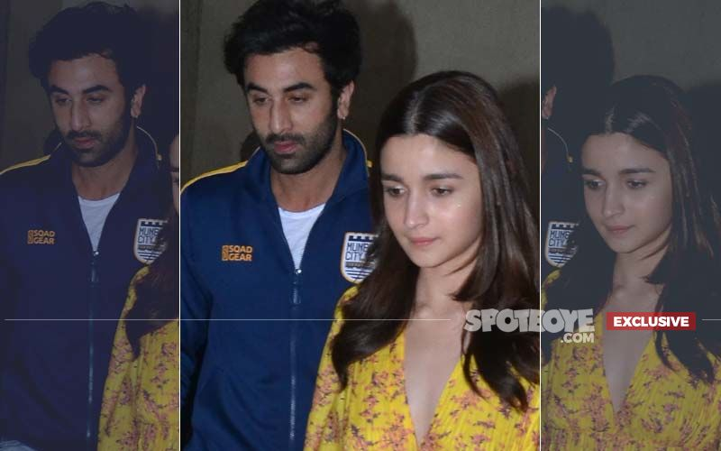 No Fight With Alia Bhatt, Ranbir Kapoor Was Upset With Someone At Gully Boy Screening