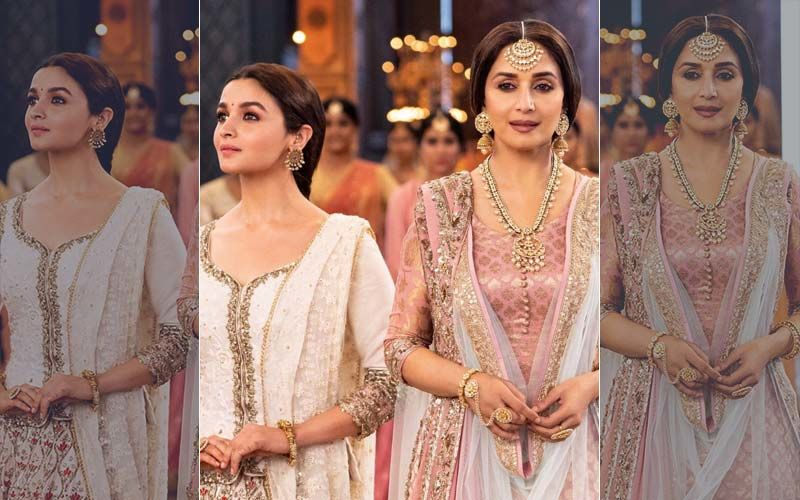 Watch Madhuri Dixit And Alia Bhatt's Ghar More Pardesiya From Kalank, Exclusive On 9XM