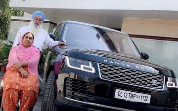 Ammy Virk Gifts Luxurious Range Rover to his Parents