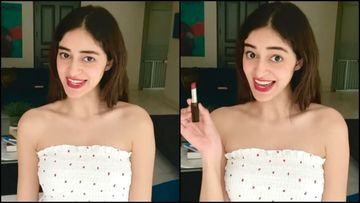 Ananya Panday BRUTALLY Trolled For Celebrating World Lipstick Day; Netizens Call Her 'Overreacting Ki Dukaan'