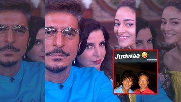 GUTS: Despite Getting Trolled, Ananya Panday Shares A 'Judwaa' Pic Of Dad Chunky Panday With Tony Stark AKA Robert Downey Jr