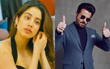 Janhvi Kapoor's Attempt At 'Trying To Keep It Together' In 2020 Will Crack You Up; Gets A Validation From Chachu Anil Kapoor - PICS