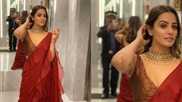 Anita Hassanandani Got Her Watchman To Take Her Portrait Shot; Turns Out To Be The Best Photographer Ever