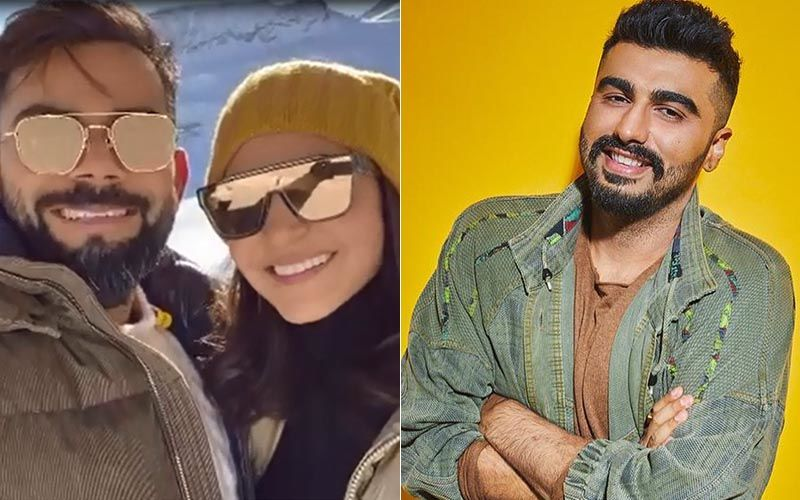 Anushka Sharma Becomes The Muse For Her 'Beloved' Virat Kohli But Arjun Kapoor Has His Eyes On Her Socks