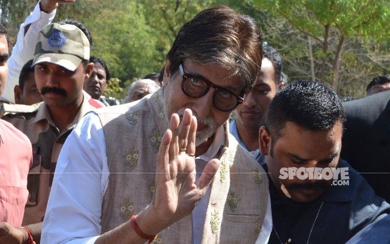 Amitabh Bachchan Says 'COVID BE DAMNED' As He Speaks On Prohibition On Touch; Tweets 'I Touch You All With Love And Care'
