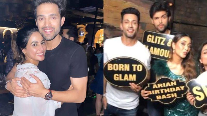 Hina Khan Parties With Parth Samthaan At His Rumoured Ex-GF Ariah Agarwal's Birthday Bash – Inside PICS And VIDEOS