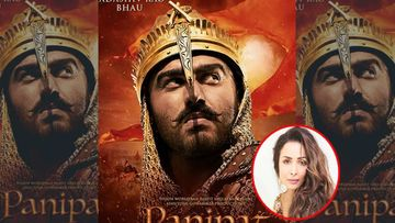 Panipat: Arjun Kapoor's First Look As Sadashiv Rao Bhau Is Out; Girlfriend Malaika Arora Goes 'Uffffff'
