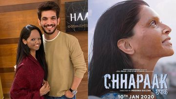 Arjun Bijlani Bumps Into Laxmi Agarwal; Urges Fan To Watch Deepika Padukone's Chhapaak Without Fail