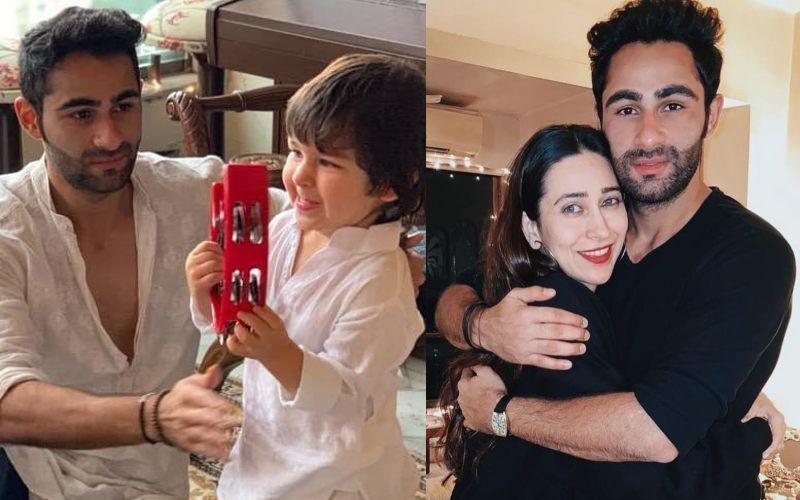 Kareena Kapoor Khan And Karisma Kapoor Wish Birthday Boy Armaan Jain; Bebo Treats Fans To Tim And Mamu's Candid Shot