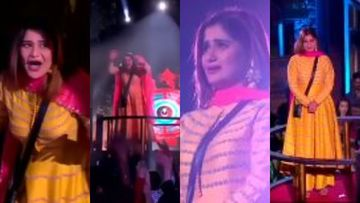Bigg Boss 13: Arti Singh's Journey Shown Amid Live Audience Before Finale; Actress Sobs As Crowd Cheers –VIDEO