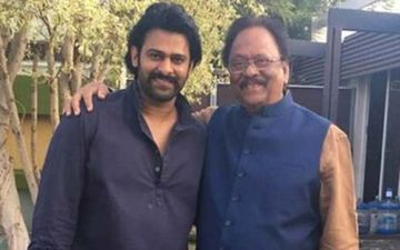 Krishnam Raju Shares A Mesmerising Picture With Prabhas From The Sets Of 'Radhe Shyam'; See This