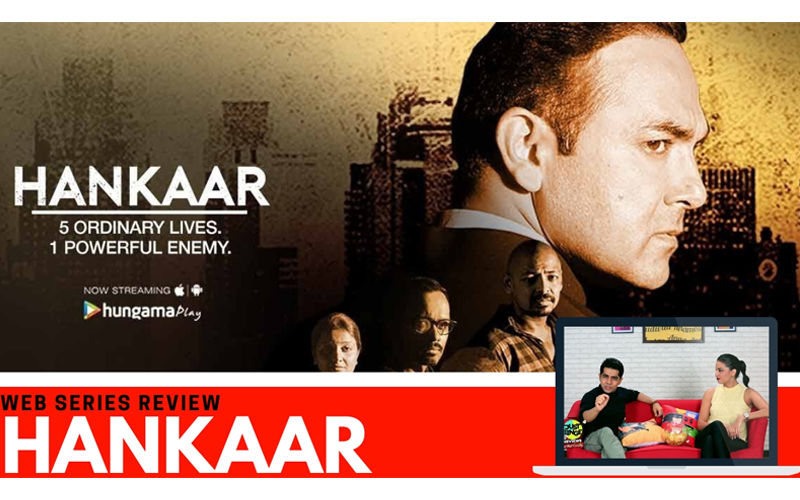 Binge or Cringe: Hankaar Is A Gritty crime Drama That Depicts Mumbai's Ugly Underbelly