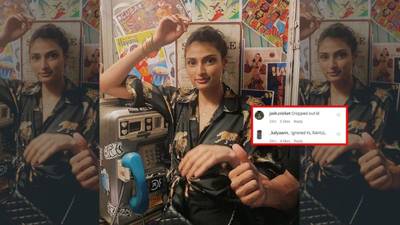 Athiya Shetty Crops Rumoured BF KL Rahul In A Throwback Pic From Their Vacation; Fans Ask Where's The Cricketer?