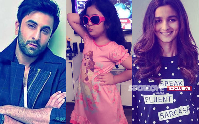 And Now, Alia Bhatt Sends Off A Special Gift For Ranbir Kapoor's Little Niece