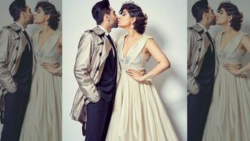 Ayushmann Khurrana-Tahira Kashyap Seal It With A Lip Kiss, Merry Times Are Here - Pics
