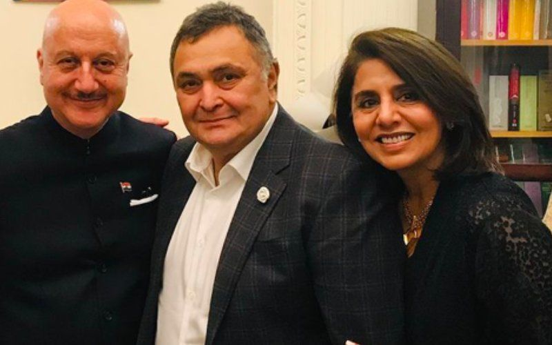 Anupam Kher Gets Nostalgic, Misses Rishi Kapoor After Meeting Neetu Kapoor In Chandigarh; Remembers All The Time They Spent Together In NYC – See Pics