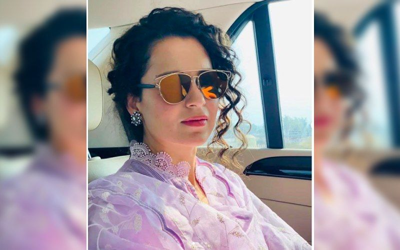 Kangana Ranaut Exudes Vintage Charm As She Attends Her Cousin Vishu's Wedding; Shares Adorable Snaps With Nephew