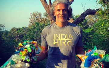 Milind Soman Picks Up Garbage During His Trek To A Temple With Wife Ankita Konwar; Shares Eco-Friendly Tips
