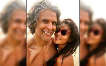 After Running Nude On A Beach, Shirtless Milind Soman Shares Another Sensational Picture, This Time With His Stunning Wife Ankita Konwar