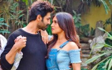 Kartik Aaryan Flaunts His Sexy Locks In His Latest Picture; His Onscreen 'Patni' Bhumi Pednekar Reacts To It